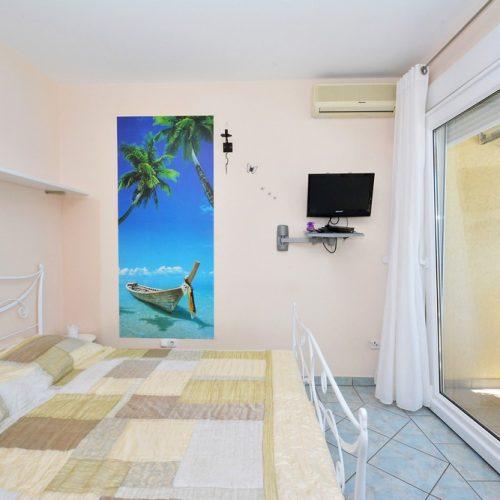 Blaue apartement